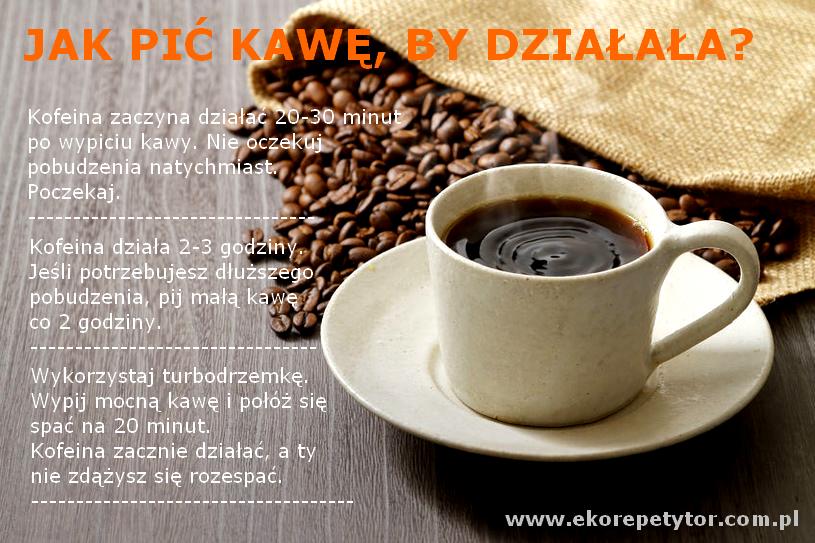 Jak pić kawę, by działała?
