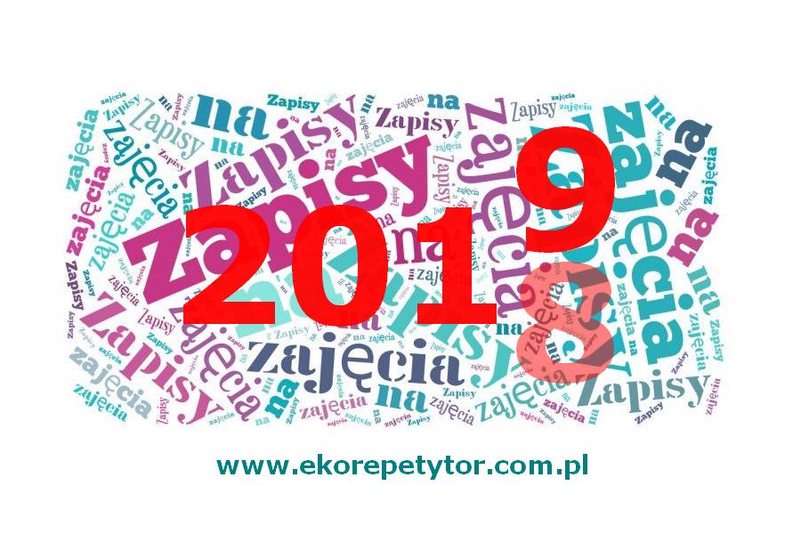 ZAPISY NA ZAJĘCIA 2018/2019