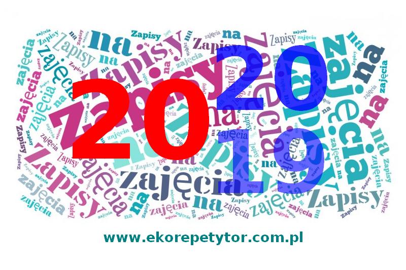 ZAPISY NA ZAJĘCIA 2019/2020